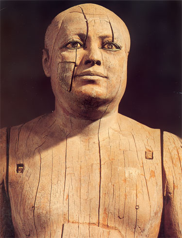 ka and ka aper Sheikh el-balad, arabic title for the chief of the village, was the name given to this  remarkable wooden statue discovered by the workmen of auguste mariette,.